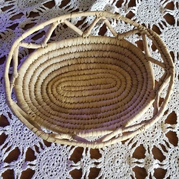Other - Rattan Boho Basket